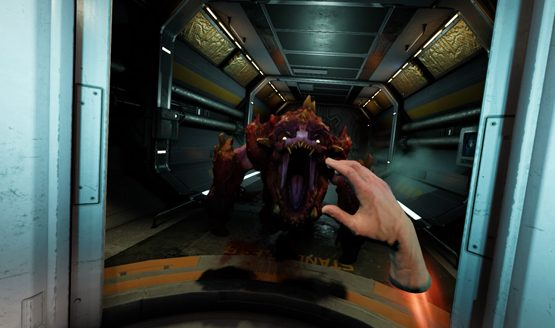 doom psvr gameplay