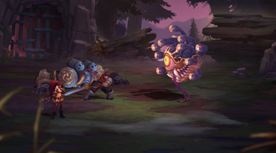 Battle Chasers Nightwar preview