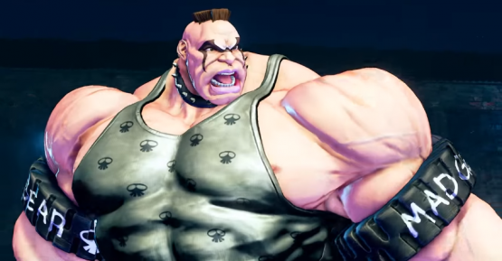 Street Fighter V's New Challenger Could Crush Cars with His Arms