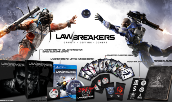 PSA: LawBreakers, Wonder Boy PS4 Collector's Editions Available This Friday From Limited Run Games