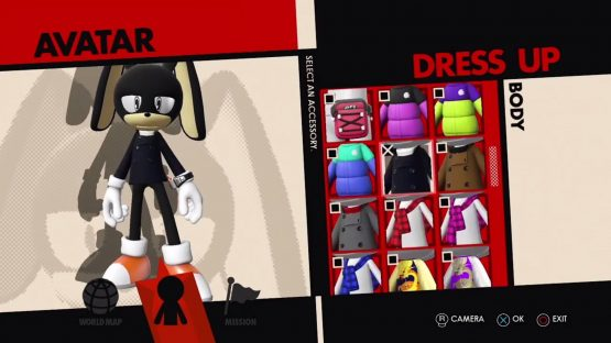 Sonic Forces Avatar Creation