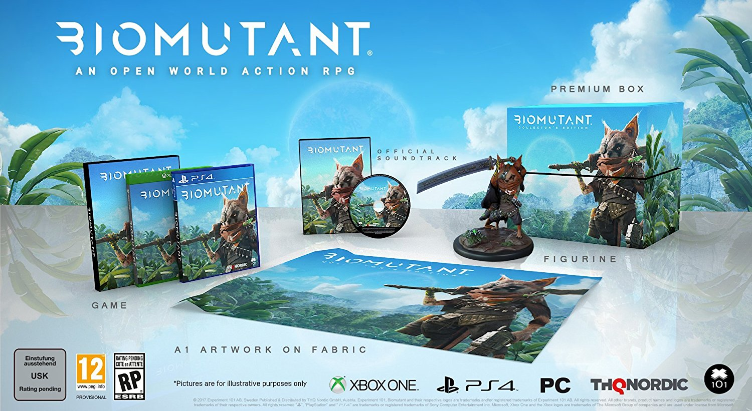Biomutant Announced With A Collector S Edition