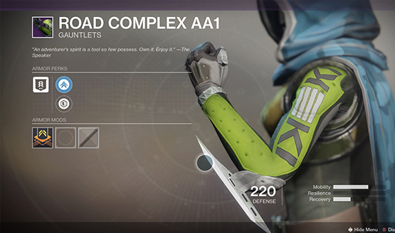 Destiny 2 Gauntlets hate symbol