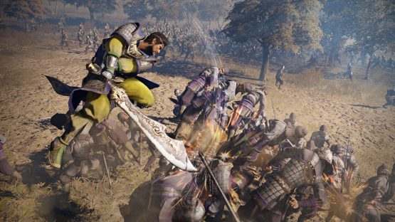 Dynasty Warriors 9 State Combo Xiahou Dun