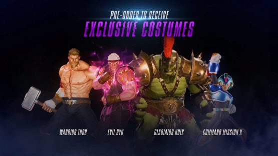 marvel vs capcom infinite pre order bonuses