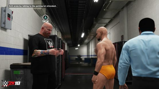 WWE 2K18 career mode