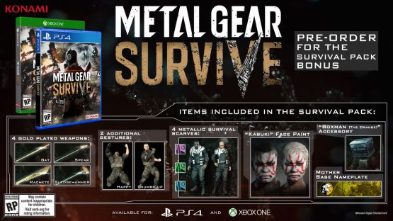 Metal Gear Survive Releases On Xbox One and PS4 in February