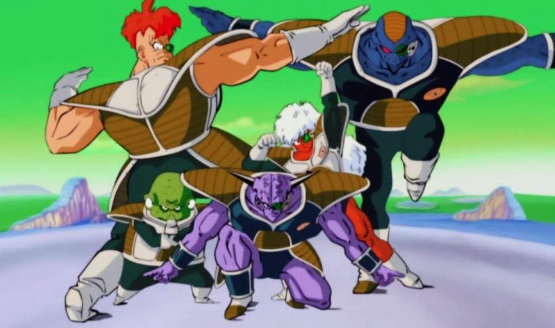 Dragon Ball - Ginyu Force