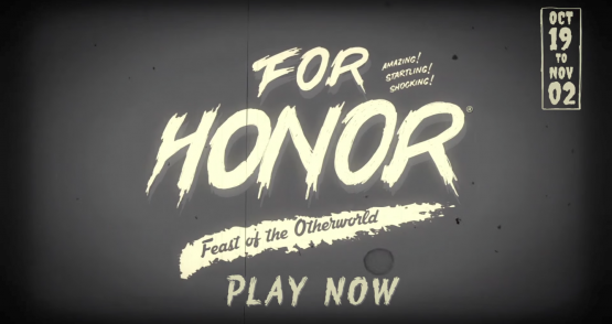 for honor halloween event