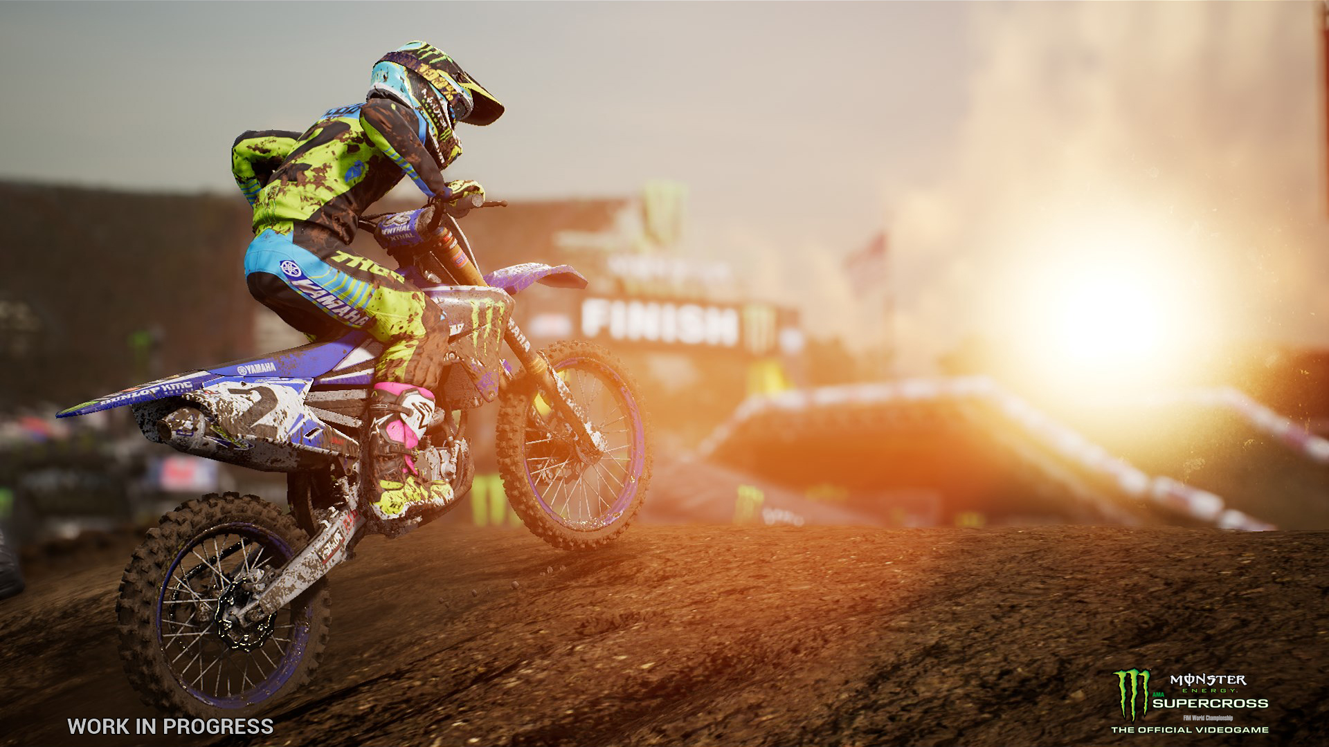 monster energy supercross coming to ps4 xbox switch. Black Bedroom Furniture Sets. Home Design Ideas