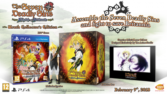 seven deadly sins ps4 collectors edition