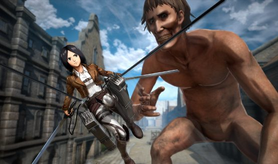 Attack on Titan 2 playable characters - Mina Carolina