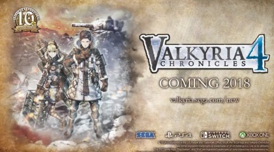 Valkyria Chronicles 4 Announced, Coming To West In 2018