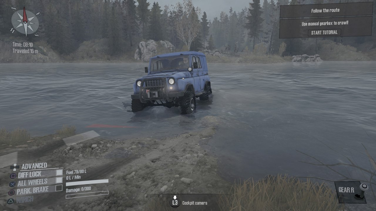 spintires mudrunner review down and dirty. Black Bedroom Furniture Sets. Home Design Ideas