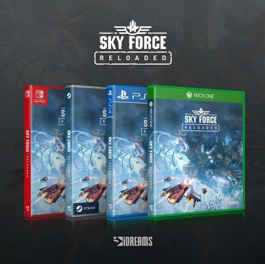 sky force reloaded PS4 boxart