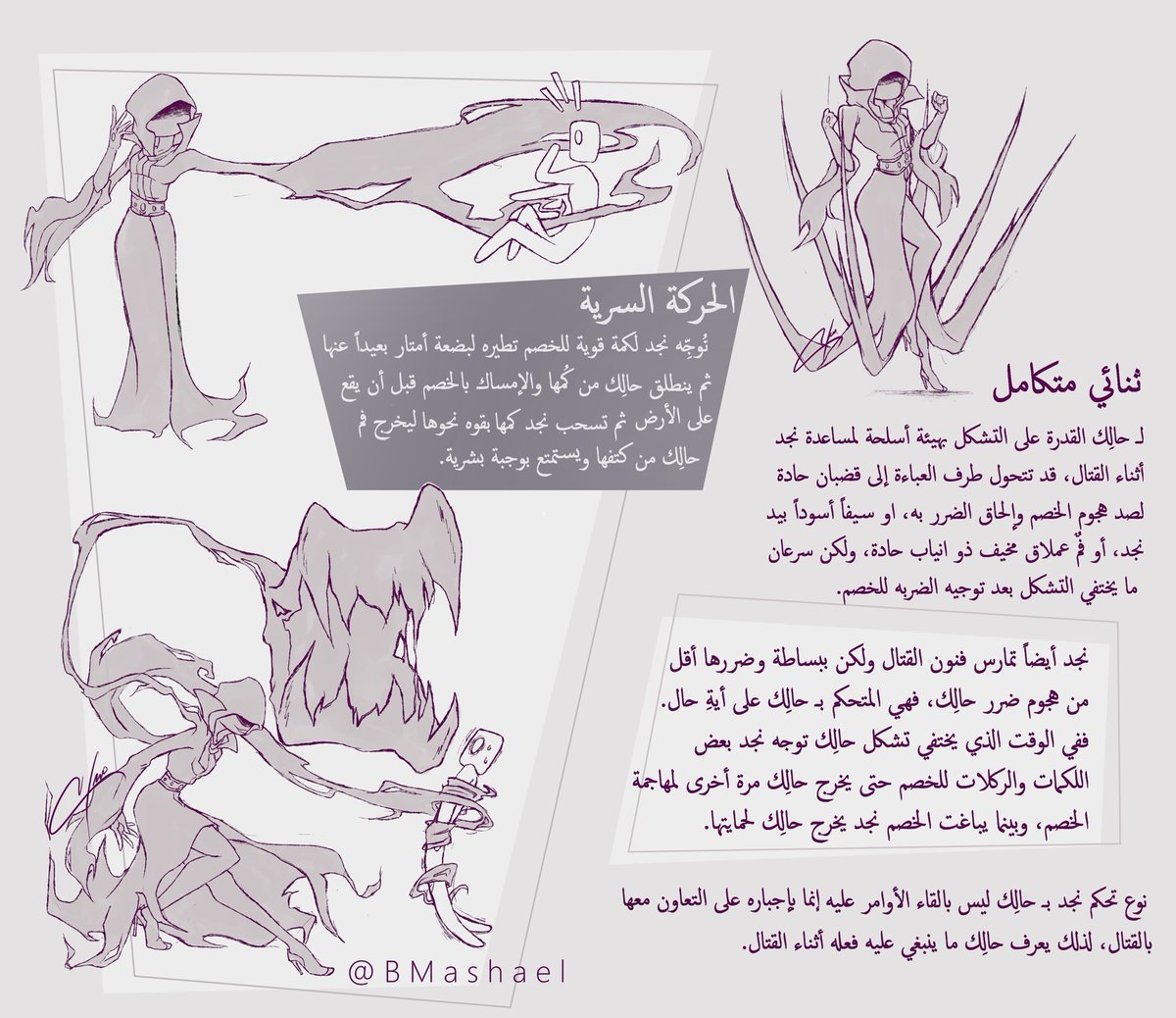Character Design Competition : Saudi woman s character najd to join snk fighters