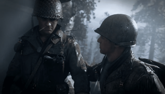 cod ww2 player count