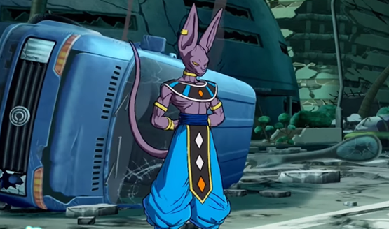 Beerus is Ready to Fight for Pudding in Dragon Ball FighterZ