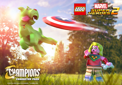 Lego marvel super heroes 2 champions dlc revealed lego marvel super heroes 2 champions dlc voltagebd Gallery