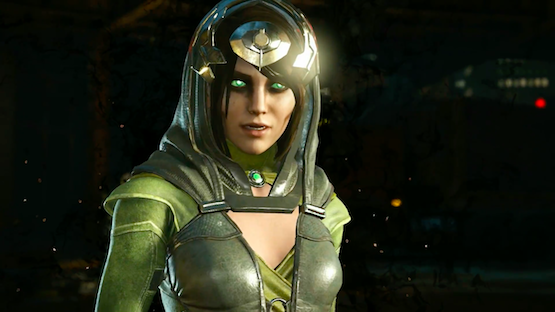 Watch the Injustice 2 Enchantress Gameplay Trailer