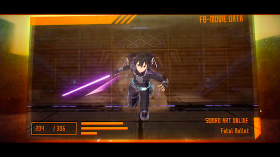 Watch the Sword Art Online Fatal Bullet Opening Animation