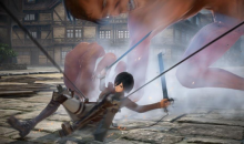 Attack on Titan 2 gameplay Mikasa