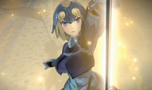 Fate Extella Link Jeanne d'Arc gameplay