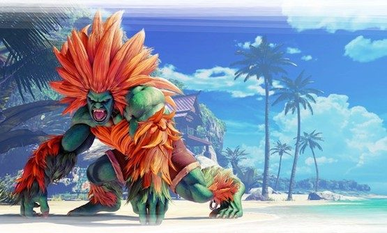 Watch First Street Fighter V Blanka Gameplay, Out Next Week