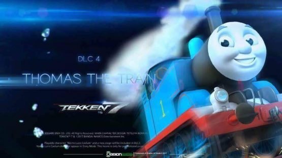 Totally Real Thomas the Tank Engine Tekken 7 DLC Leaks