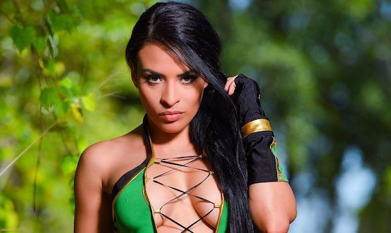WWE Superstars Zelina Vega and Billie Kay Did an Awesome Mortal Kombat Cosplay