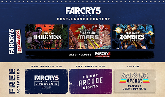with todays announcement of far cry arcade far cry 5s map editor and competitive multiplayer component ubisoft has also outlined some of the free