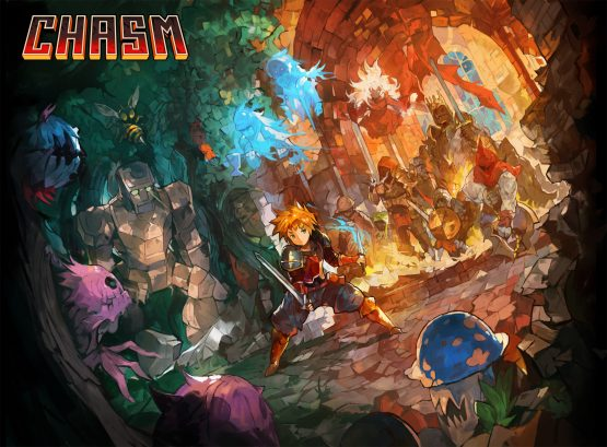 chasm release date descends this summer for the ps4 and ps vita game art