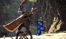 Monster hunter world mega man