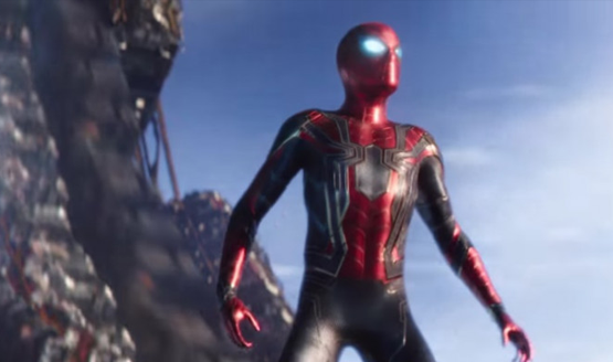 Spider-man ps4 iron spider suit avengers infinity war 1