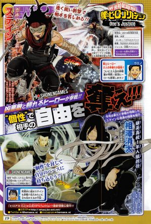 my hero academia ones justice two new characters