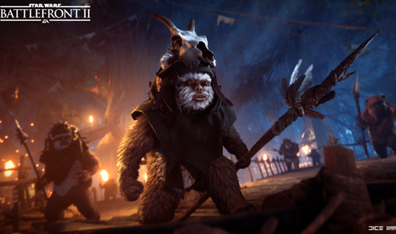 Ewok Hunt mode coming to Star Wars Battlefront II
