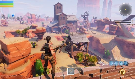 Restaurant Lawak: Fortnite: Save the World's Canny Valley