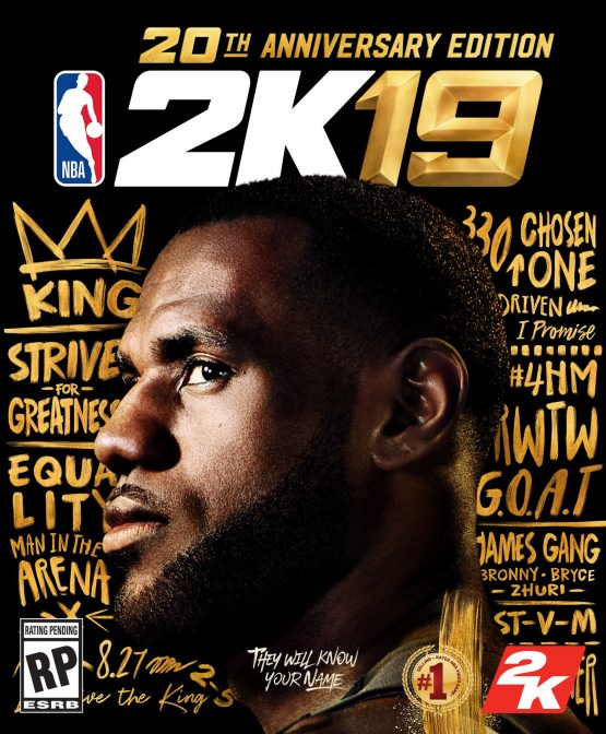 NBA 2k19 LeBrone James