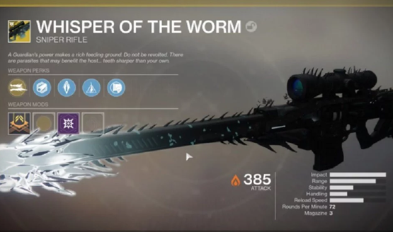 Destiny 2 secret mission gives exotic weapon vog reference new lore destiny 2 secret mission whisper of the worm black spindle malvernweather Image collections