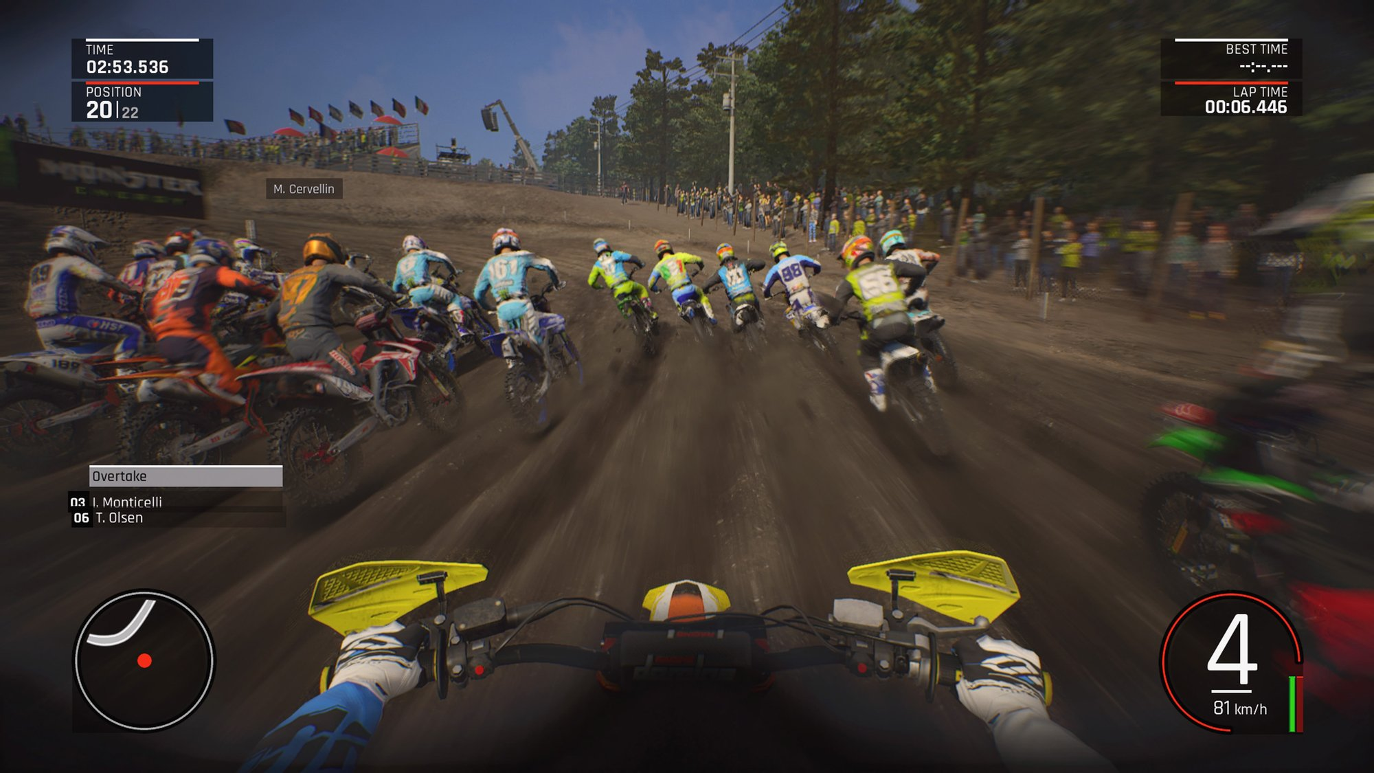 Mxgp Pro Review Muddy Hell Ps4 Playstation Lifestyle Game Mx Gp 2