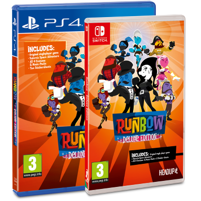 Runbow Deluxe Edition Release Date