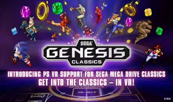Sega Genesis Classics VR Support Added in Free Update
