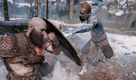 god of war boss fight
