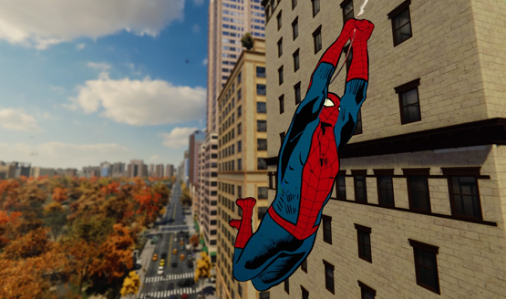 spider-man PS4 music