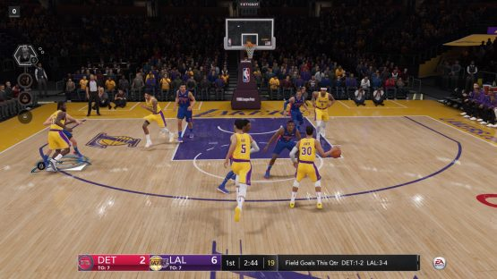 NBA Live 19 PS4 Review