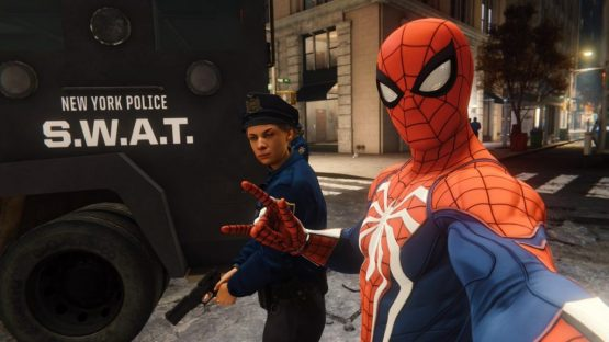 Spider-Man PS4 Police