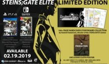 Steins Gate Elite US Release Date