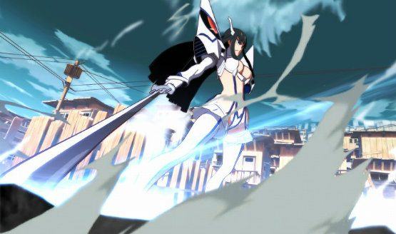 kill la kill the game if story