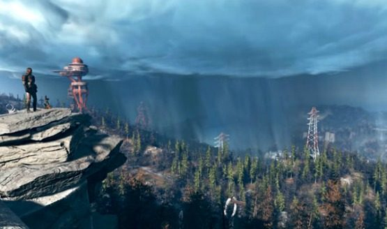 Fallout 4 Us Map.Fallout 76 Full Map Gives Us An Early Look At West Virginia