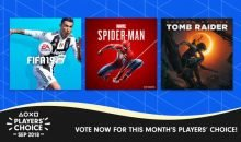 Players Choice September 2018 PS4